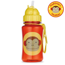Skip Hop Zoo Straw Bottle, Monkey