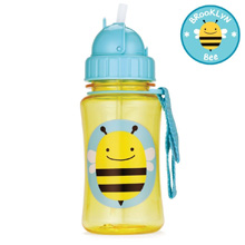 Skip Hop Zoo Straw Bottle, Bee