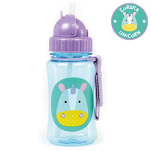 Skip Hop Zoo Straw Bottle, Unicorn