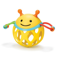 Skip Hop Explore & More Roll Around Rattle, Bee