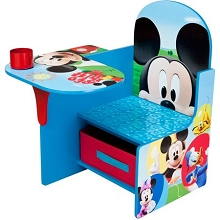 Delta Mickey Mouse Desk with Storage Chair
