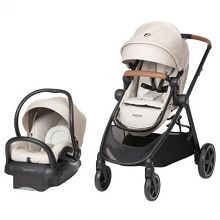 Maxi Cosi Zelia Max 5 in 1 Travel System Nomad Sand
