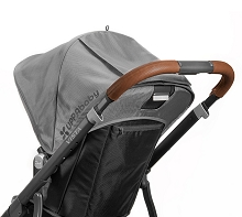 Uppababy Leather Handlebar Cover for VISTA and VISTA 2,  Saddle
