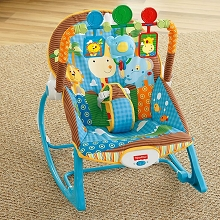 Fisher Price Infant to Toddler Rocker Jungle Fun