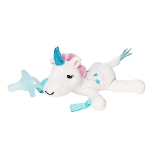 Dr Brown's Unicorn Lovey Pacifier and Teether Holder +0 Months