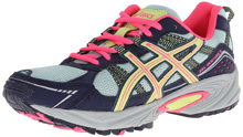 ASICS 60% Off GEL-Venture 4 GS Running Shoe , Kids - Ice Blue/Sharp Green/Navy