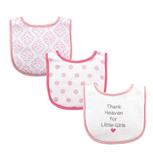 Luvable Friends Baby Drooler Bibs, Thank Heaven For Little Girls