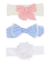 Baby Essentials 3 Pack Headband Mixed
