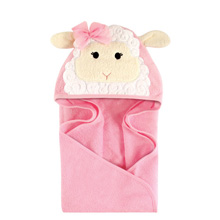 Hudson Baby Animal Hooded Towel - Little Lamb