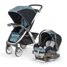 Chicco® Bravo® Trio Travel System, Iceland