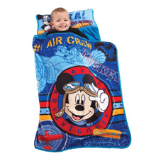 Disney Mickey's Flight Academy Nap Mat