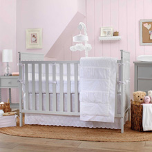 Carter's® Lily 3 Piece Crib Bedding Set