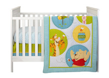 Disney Pooh's Play Day 4 Piece Crib Bedding Set