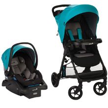 Safety 1st Smooth Ride Travel System, Lake Blue