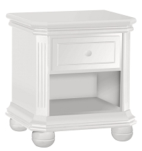 Sorelle Vista Elite Supreme Nightstand White