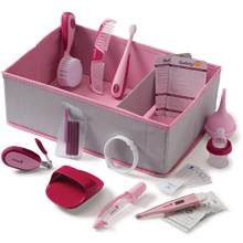 Safety 1st Ready! Deluxe Baby Nursery Kit, Raspberry