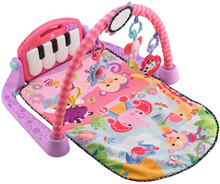 Fisher Price Kick & Play Piano Gym (Pink)