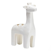 Giraffe Nursery/Child Table Top Night Light Soft-Glow LED Lamp