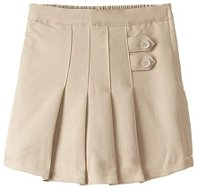 French Toast 50% Off  School Uniform Two Tab SKort Girl Khaki