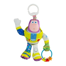 Lamaze Toy Story Clip and Go Buzz Lightyear