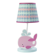 Bedtime Originals Sugar Reef Lamp with Shade and Bulb