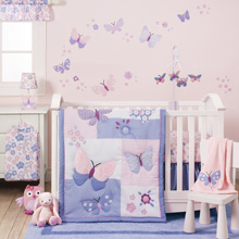 Bedtime Originals Butterfly Meadow 3 Piece Crib Bedding