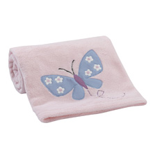 Bedtime Originals Butterfly Meadow Blanket