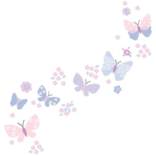 Bedtime Originals Butterfly Meadow Wall Appliques