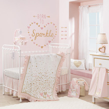 Lambs & Ivy Confetti 4 Piece Crib Bedding Set