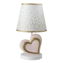 Lambs & Ivy Confetti Lamp with Shade & Bulb