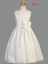 Lito Children's Wear Striped Organza Communion Dress