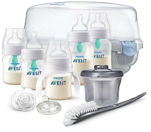 Avent  Anti Colic Bottle with AirFree Vent Gift Set All Essentials
