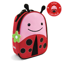 Skip Hop Zoo Lunchie Insulated Kids Lunch Bag, LadyBug