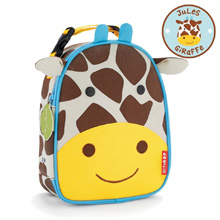 Skip Hop Zoo Lunchie Insulated Kids Lunch Bag, Girafffe