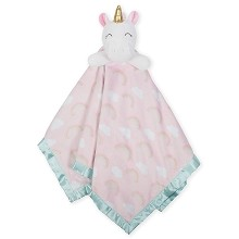 Just Born® Unicorn Security Blanket XL, Pink