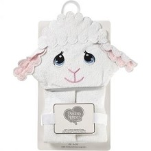 Precious Moment Lamb Hooded Towel