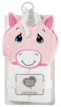 Precious Moment Unicorn Hooded Towel