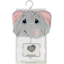 Precious Moment Elephant Hooded Towel