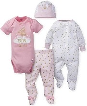 Gerber Princess Castle Take Me Home Set, Newborn