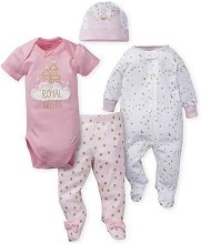 Gerber Princess Castle Take Me Home Set, 0-3 Months