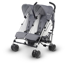 UppaBaby G-Link Duo Stroller, Pascal (Grey)