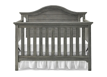 Ti Amo Catania Convertible Crib Farmhouse Grey