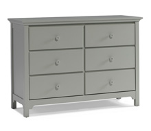Ti Amo 3000 Series Double Dresser Misty Grey