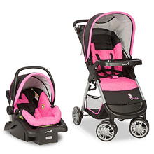 Dorel Safety Disney Amble Quad™ Travel System Minnie Mouse