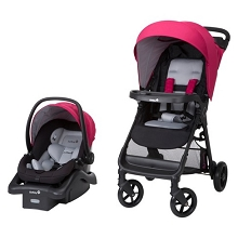 Safety 1st Smooth Ride Travel System, Sangria