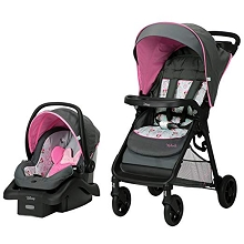 Disney Baby Smooth Ride Travel System Minnie