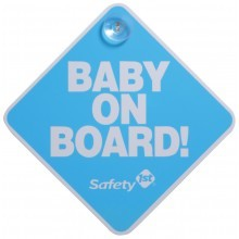 Safety 1st® Baby On Board Sign, Blue