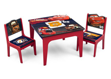 Disney Cars Table & Chair Set with Storage