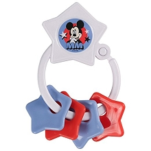 Cudle Mickey Mouse Star Ring Teether