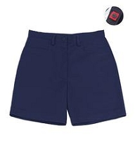 Stani 50% Off School Uniform Front Pocket Short Girl Navy
